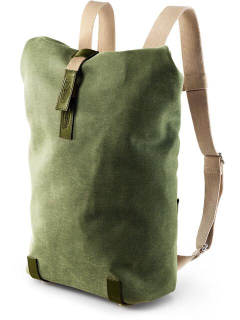 Brooks Pickwick Canvas Backpack Small 12l heu grün/olive